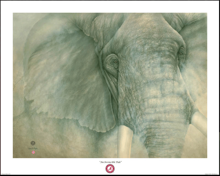 Giclee - The Alabama Elephant - Poster